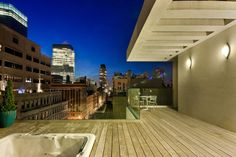 StreetEasy: 16 Warren St. #PH - Condo Apartment Sale at Tribeca TownHomes in Tribeca, Manhattan #outdoorspace #terrace #relaxing #NYC #views #homedecor