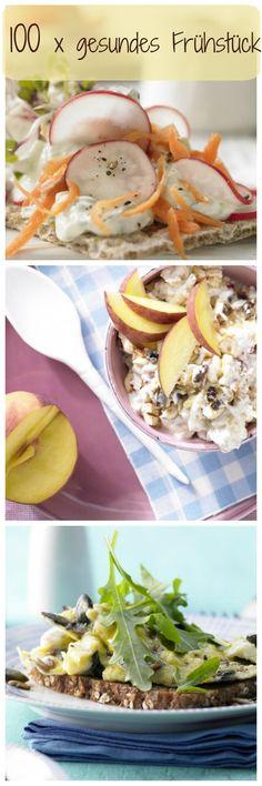 Mit diesen gesunden und leckeren Frühstücksideen kannst du gestärkt und voller Energie in den Tag starten!   http://eatsmarter.de/rezepte/rezeptsammlungen/gesundes-fruehstueck#/0
