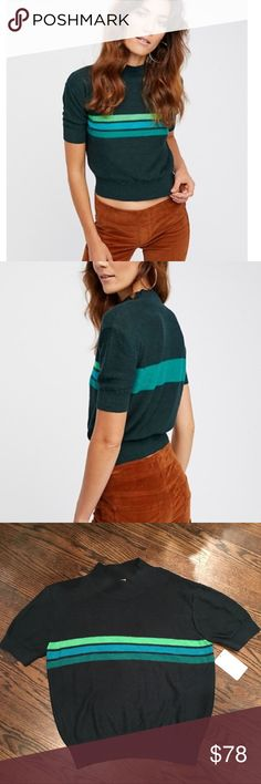 Coming - Free People Way Back Retro Sweater Large Coming today - like to get notified with price drop when it becomes available Free People Sweaters