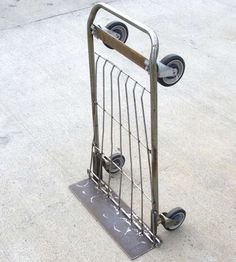 Make a Hand Truck From a Shopping Cart in Minutes