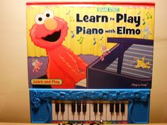 Sesame Street: Learn to Play Piano with Elmo (Piano Book); Hardcover USED Book #Publications
