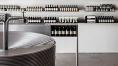 Aēsop store Aesop Store, Design Department, Visual Effects, California, Wall Shelves, Sink, House Design, United States, Home Decor