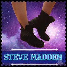 STEVEN by Steve Madde Black Suede Moto Boots NWOT These Steve Madden moto boots are made with ultra-soft black suede that has a really cool distressed look. Some areas are flat black and some shimmer. They have metal detailing on the outside of the boot for that extra stylish touch. Super-duper cute! These are size 8 1/2 but feel like an 8 to me. These are brand new  Steven by Steve Madden Shoes Combat & Moto Boots
