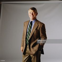 American football coach and former player Dan Reeves, New York City, 1995.