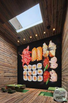 Wall Mural Sushi wall mural • Inspirations • PIXERSIZE.com