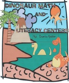 This book contains Math and Literacy Centers that you can use when you are studying dinosaurs.  There are activities such as:Measuring bonesMak...