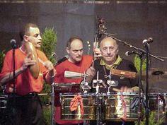 Manny Oquendo, Andy Gonzalez, Vasquez with the guiro.