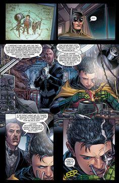 Damian & Alfred - 'Batman and Robin Annual Nightwing, Batgirl, Catwoman, Son Of Batman, Batman Family, Batman Robin, Damian Wayne, Marvel Vs, Marvel Dc Comics