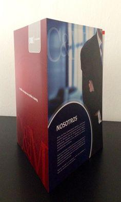 Diseño de brochure empresarial de servicios...  #FusiónCreativa
