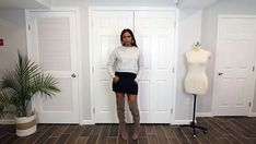 Everyone loves a fun upcycle. Grab a sweatshirt from your closet and follow this tutorial to turn it into a super cute skirt. Refashioned Clothes, Upcycled Clothing, Loungewear Outfits, Loungewear Set, Slip Skirts, Cute Skirts, Sewing Ideas, Sewing Projects, Troll Costume