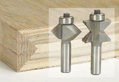 Plywood Edging Bits ~ Edge V-groove bits Woodworking Router Bits, Woodworking Jig Plans, Router Tool, Router Cutters, Learn Woodworking, Planer, Woodworking Projects, Dremel, Plywood Edge