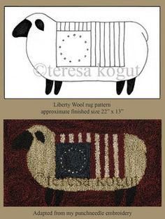 Liberty wool rug pattern | Flickr - Photo Sharing!