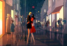 Another night out. #pascalcampion #city #romance