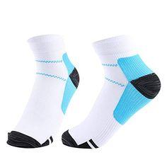 547958495114d Hot Sale Unisex Women Men Foot Compression Socks For Plantar Fasciitis Heel  Spurs Arch Pain Breathable Chinlon Socks