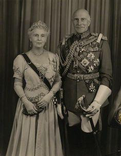 HRH Princess Alice, Countess of Athlone and Alexander Cambridge, Earl of Athlone by Hay Wrightson Ltdbromide print, circa 1953
