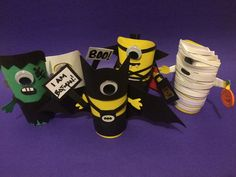 "Halloween Treat Boxes ""The Spooky Minion Collection"" Thee wow shop"" On etsy !"