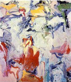 Willem de Kooning - Untitled I, 1975