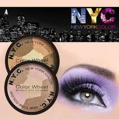 NYC New York Color Wheel Mosaic Eye Powder $1.99