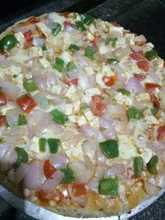 Mix veg pizza