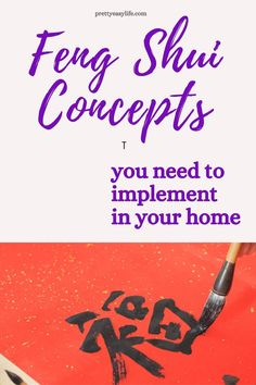 Basic Feng Shui concepts to implement in your home that will change the overall energy of the house #fengshui Household Organization, Life Organization, How To Get Better, Better Life, How To Feng Shui Your Home, Feng Shui House, Career Inspiration, Chinese Words, Good Energy
