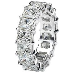 1stdibs - Radiant Cut Diamond Eternity Band explore items from 1,700  global dealers at 1stdibs.com