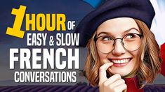 Learn French with a 1-Hour Beginner Conversation Course (for daily life) - OUINO.com - YouTube French Language Classes, French Language Basics, German Language Learning, Learn A New Language, Foreign Language, Learning Spanish, Learn French Beginner, Learn To Speak French, French Lessons For Beginners