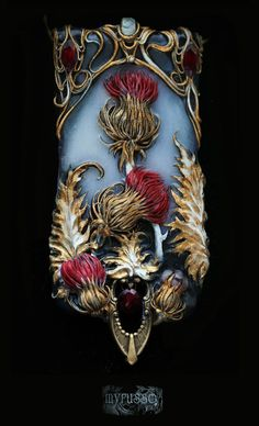 Украшения - 2014 | 245 фотографий  #jewelry #polymer_clay #sculpture #miniature #modern #illustrations #Jugendstil #art nouveau #face #bird #hands #heart #woman #figure #art #artist #Grimoire #Myrusso #filigree #beauty #beautiful #style #paint #painting #aesthetics #accessory