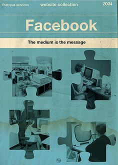 Social Media Vintage Poster art if they existed in the Century. High-Res Retro Posters for printing. Social Media Books, Social Media Poster, Look Vintage, Vintage Ads, Vintage Posters, Vintage Images, Poster Design Online, Facebook Poster, Vintage Penguin