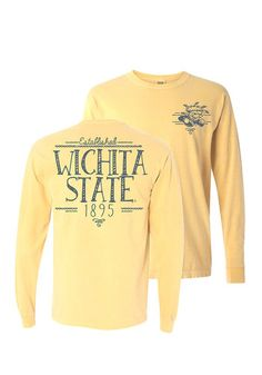 Wichita State Shockers Womens Long Sleeve T-Shirt http://www.rallyhouse.com/wichita-state-shockers-womens-butter-handwritten-long-sleeve-crew-t-shirt-16650176?utm_source=pinterest&utm_medium=social&utm_campaign=Pinterest-WSUShockers $34.99