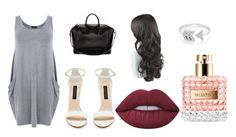"""""""Untitled #91"""" by jazzpearl on Polyvore featuring Givenchy, Lime Crime, EF Collection and Valentino"""