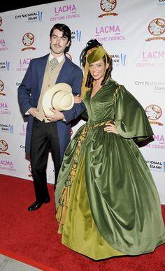 Scarlett and Rhett couples costume.