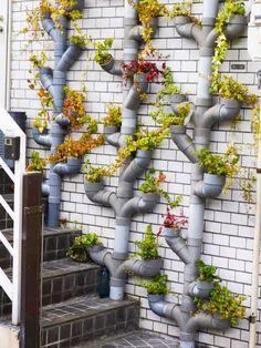 Картинки по запросу поделки из пластиковых труб