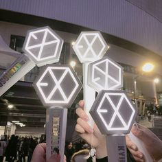 #EXO #EXOgoods #EXOthings #exolightstick Lightstick Exo, Chanyeol, Exo Merch, Bts And Exo, Kpop Aesthetic, Something To Do, Fangirl, Army, Goals