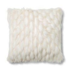 Le Blanc Fur Decorative Pillow