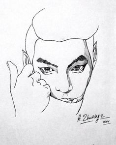 Kim Woo Bin) ❤️ #art #draw #korea #model #actor #fanart