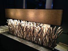 Large Driftwood Lamp