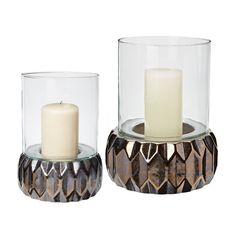 Dimond Home Multifaceted Origami Gold Hurricanes