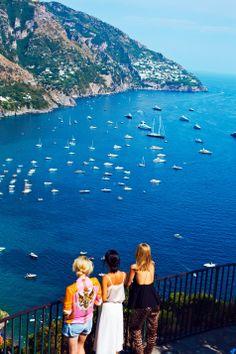 The Amalfi Coast, Italy.