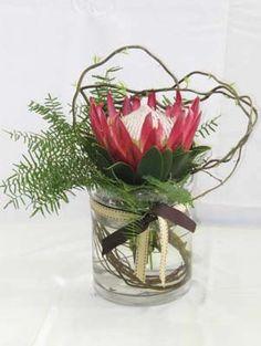 King protea - beautiful Funeral Flowers, Wedding Flowers, Protea Flower, Australian Native Flowers, Wedding Table, Flower Power, Nativity, Charity, Flower Arrangements