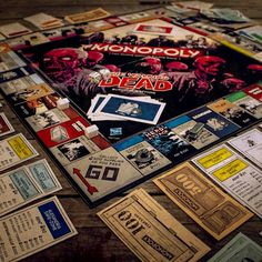 The Walking Dead Monopoly  from Firebox.com
