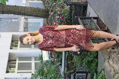 lace two-piece, GiGi New York bag, NYFW, New York, statement earrings