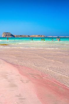 Balos Beach, Chania, Crete Try and count the colours of this amazing beach. You'll never finish! Places To Travel, Places To See, Balos Beach, Travel Around The World, Around The Worlds, Magic Places, Greece Islands, Crete Greece, Greece Travel