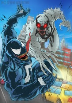 Ethereal Learn To Draw Comics Ideas. Fantastic Learn To Draw Comics Ideas. Anti Venom Marvel, Marvel E Dc, Marvel Comics Art, Marvel Heroes, Marvel Comic Character, Marvel Characters, Venom Extreme, Symbiotes Marvel, Venom Art