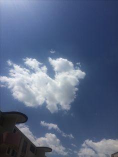 2017년 4월 27일의 하늘 #sky #cloud