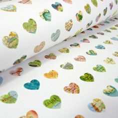 Map print wrapping paper - 3 sheets