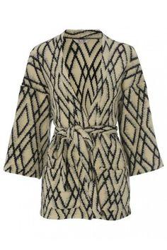 Tucker by Gaby Basora ZigZag Wool-Blend Knit Jacket Profile Photo
