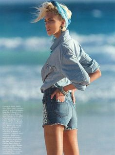 blue jeans editorial