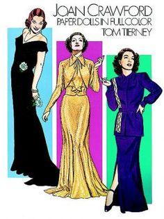 Joan Crawford Paper Dolls, Tierney 1983
