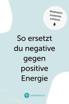 Negative Energie macht dir gerade den Alltag schwer? Du bist nicht alleine. Gerade in Zeiten einer Pandemie sind wir Menschen angespannter als sonst. Um negative Energie mit positiver zu ersetzen, habe ich eine 10-minütige Meditation für dich 🧘♀️💖Höre gleich rein und schreib mir gerne, was du zu dem Thema denkst!#meditation #positivevibes #mindfulness #podcast Meditation, Positive Energie, Yoga, Chart, Happy Life, Joie De Vivre, Consciousness, Feel Better, People