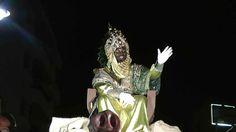 Recepción de cartas y cabalgata de los Reyes Magos